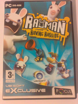 Rayman Raving Rabbids PC DVD ROM Very Good Condition Complete - $4.70