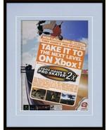 Tony Hawk Pro Skater 2002 XBox Framed 11x14 ORIGINAL Vintage Advertisement - $34.64