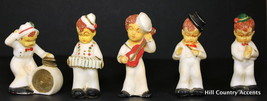 HULL POTTERY - SWING BAND - ANTIQUE, VERY RARE, 5 PC Incl. CONDUCTOR, NO... - $500.00