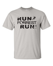Run Forrest Run Movie Retro Gump Running Workout Funny Men's Tee shirt - $12.86+