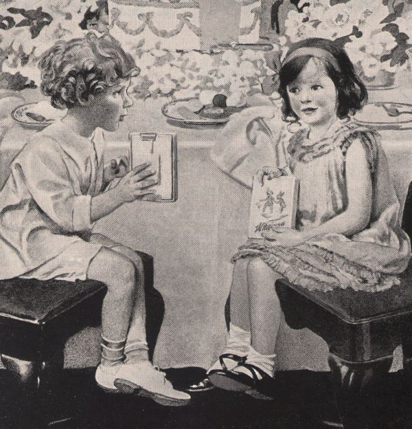 Whitman's Wonderbox Candy '20s Little Girls and similar items