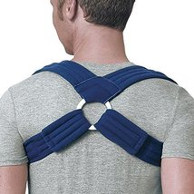 FLA Orthopedics Prolite Deluxe Clavicle Support, Navy, X-Small - $22.99