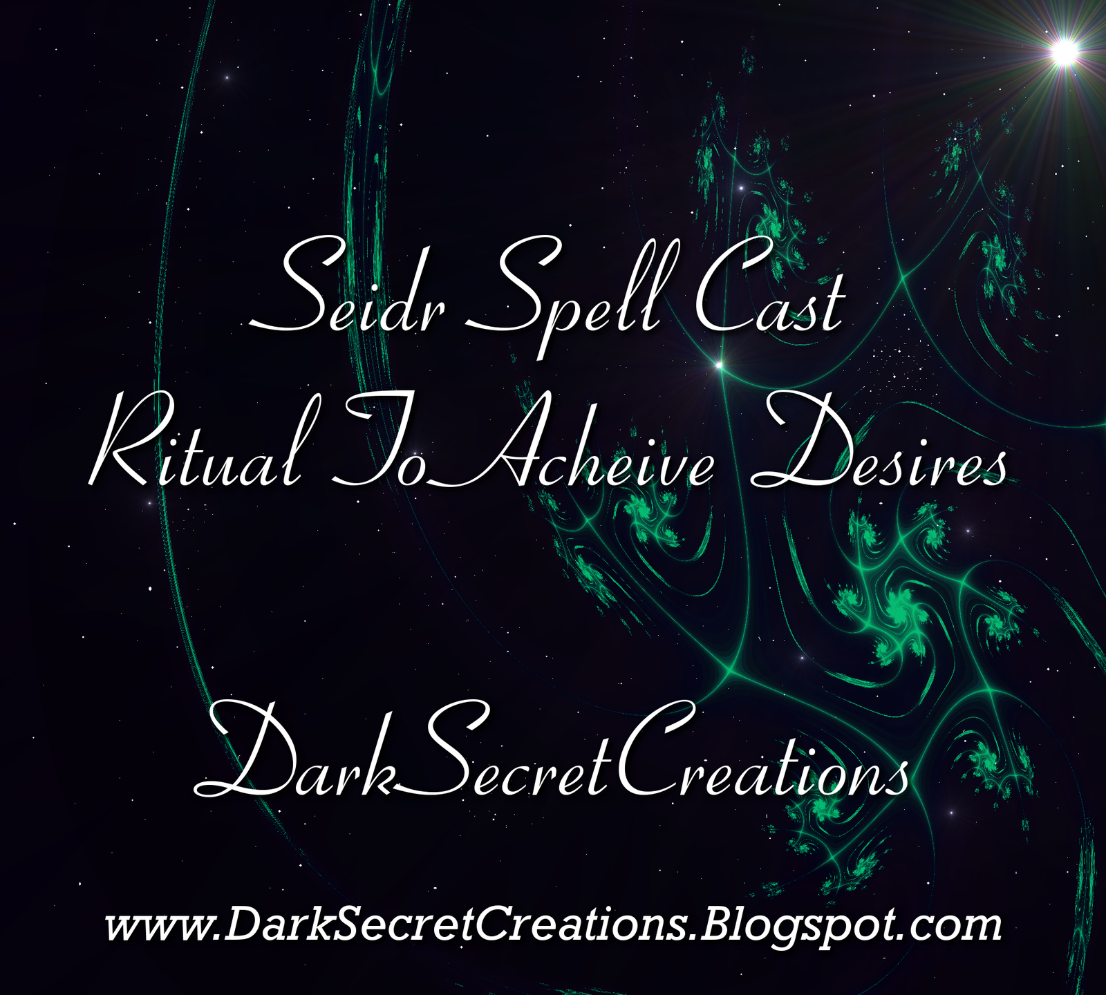 Seidr Spell Cast Ritual To Acheive Desires, Coven Cast Spell