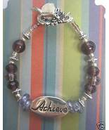 "Inspirational ""Achieve"" Beaded Wine Glass Charm  - $5.98"