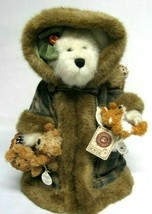 "Boyds Bears ""Fern Woodsbeary"" 13"" Plush Bear- #99792V -QVC Exclusive- LE- 2001 - $49.99"