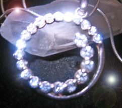 OFFER ONLY HAUNTED NECKLACE OOAK DESCENDANT GRACE & POISE MAGICK 925 7 SCHOLAR - $200.00