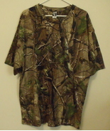 Mens Code V NWOT Camouflage Short Sleeve Crew Neck T Shirt Size 2XL - $14.95