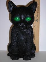 "Life Size--Happy Halloween Kitty Statue 7 1/2""--Indoor--Outdoor Decor - $7.99"
