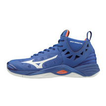 Mizuno Wave Momentum Indoor Shoes Volleyball Badminton Blue Unisex V1GA1... - $111.51