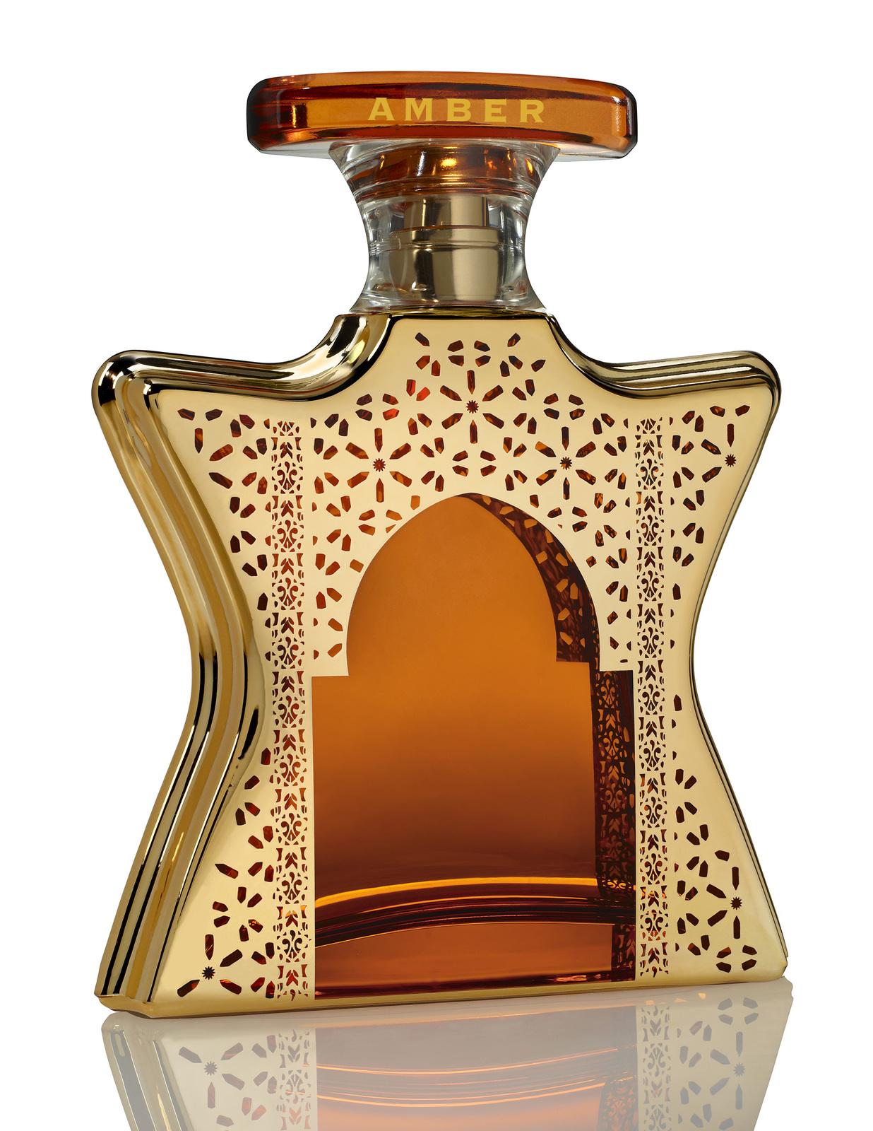 DUBAI AMBER by BOND No.9 5ml TRAVEL SPRAY Rasberry Gaiac Saffron Cedar PARFUM