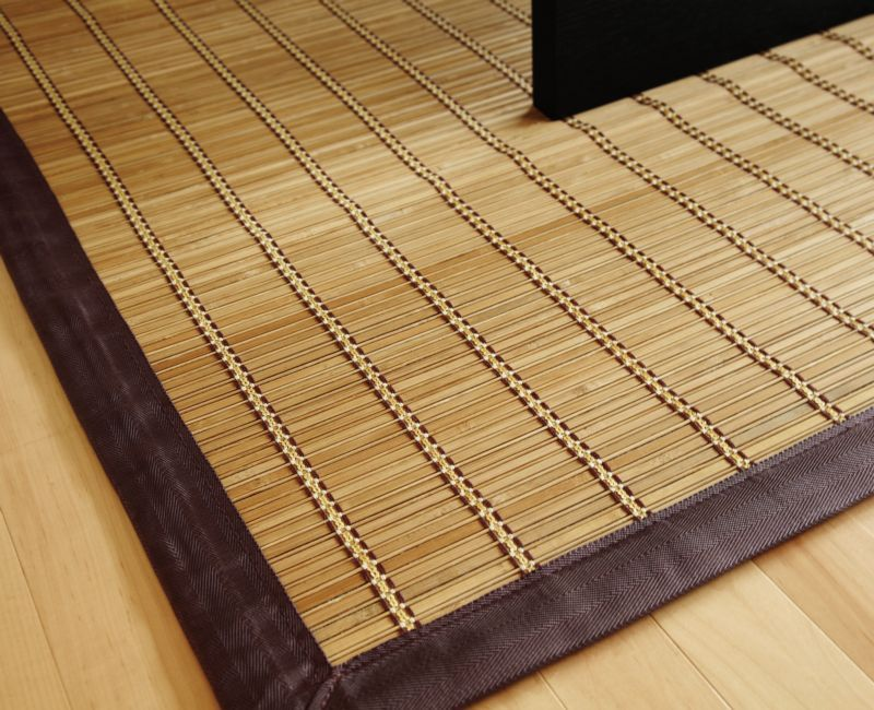 Pearl River Natural Bamboo Rug 6ft. X 9ft.