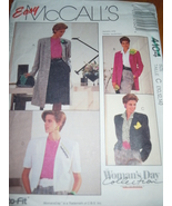 Easy McCall's Misses Size 10-14 Coat or Jacket Pattern # 4064 - $4.99