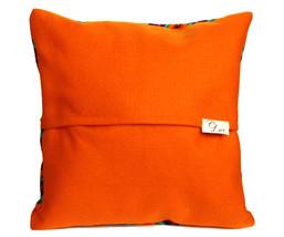 Rainbow PERUVIAN Cushion Cover, throw pillow, ethnic cushion, boho decor image 2