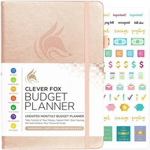 Clever Fox Budget Planner - Expense Tracker Notebook. Monthly Budgeting ... - $28.98