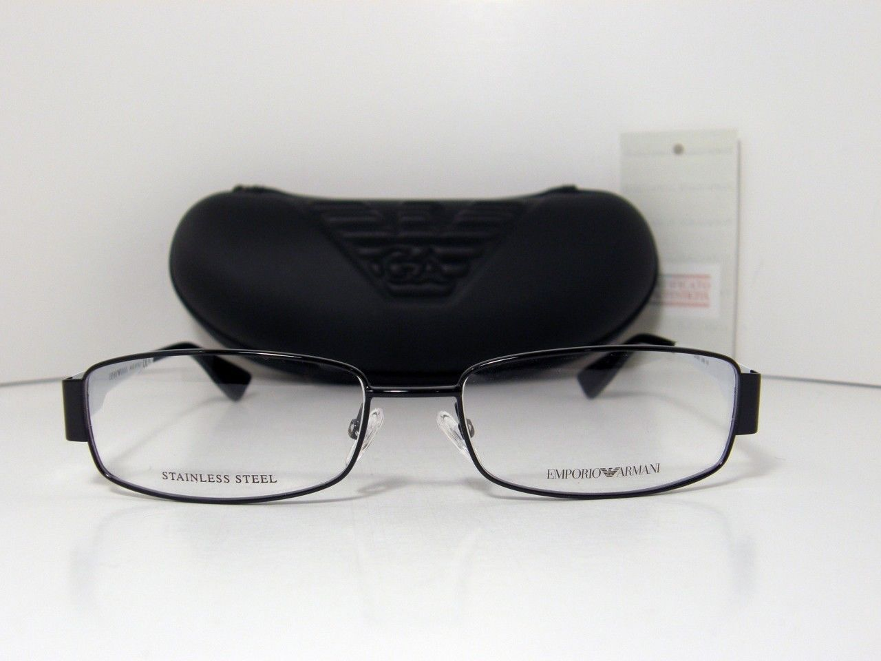 New Authentic Emporio Armani Eyeglasses EA 9661 EA9661 OMM 53mm Made In Italy