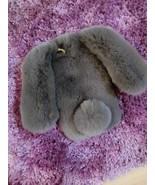 Bunny Phone Case Light Gray Rabbit Fluffy iPhone 6 iPhone 6s iPhone7 7 P... - $30.00+