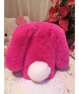 Bunny iPhone 6S Plus Case Rose Rabbit Furry Cute 6S Phone Case White Sho... - $30.00+