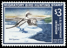 RW34, Mint VF XLH $3 Duck Stamp Cat $100.00 - Stuart Katz - $40.00