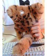 Kitten iPhone 6S Case Leopard Print Rabbit Furry Cute iPhone Case iPhone... - $30.00+