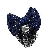 Womens Elegant Hairnet Hair Clip Snood Net Bow Barrette Hairdressing, Q - $10.06