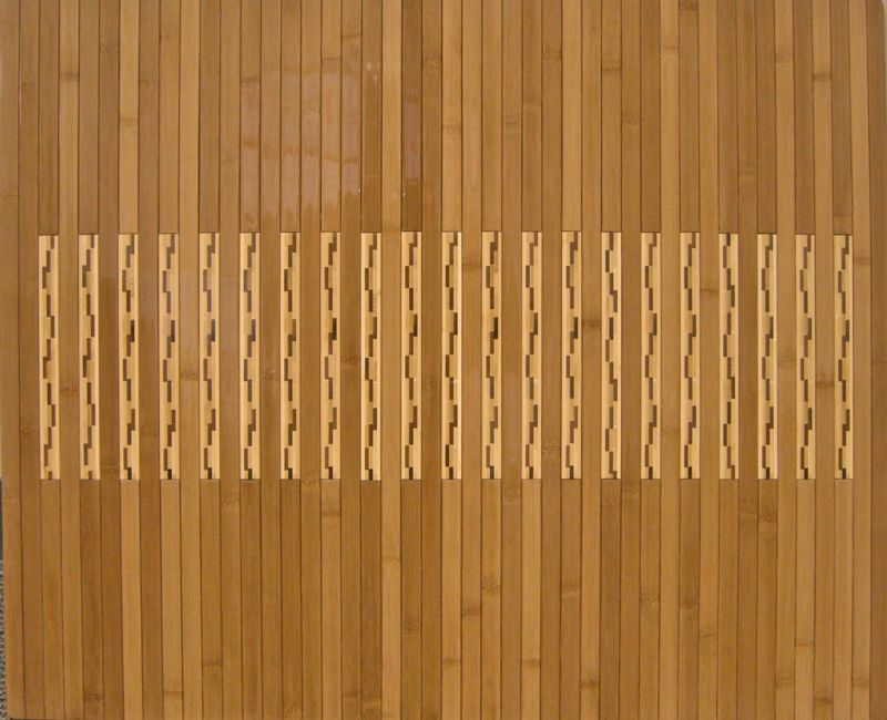 Natural Bamboo Kitchen and Bath Mat 20 x 32 inches