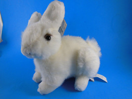 "GANZ 7"" Choice White Bunny Rabbit Plush 1996 Mint with tag - $5.53"