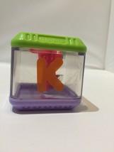 Fisher Price Peek A Blocks  Alphabet Replacement Block K For Keys - $5.45