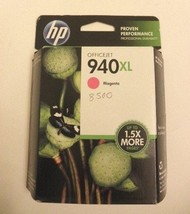 Genuine Officejet HP 940XL MAGENTA Ink cartridge NEW in Box C4908AN 8000... - $8.86