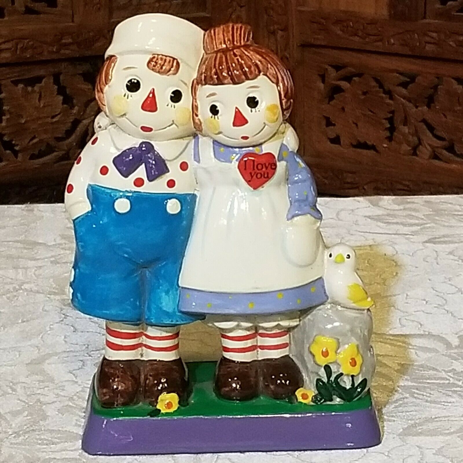 Raggedy Ann & Andy Love One Another Figure 1972 - $14.85