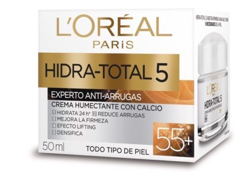 Primary image for L'Oreal HIDRA-TOTAL 5 WRINKLE EXPERT 55+ (2 PACK)