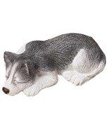 Original Sandicast Husky Snoozer Dog Figurine # S29 - Made in USA - $22.75