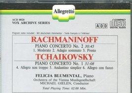 Rachmaninoff/Tchaikovsky: Piano Concerti [Audio CD] Rachmaninoff; tchaik... - $18.09