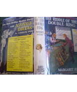 Judy Bolton #10- The Riddle of the Double Ring-... - $24.95