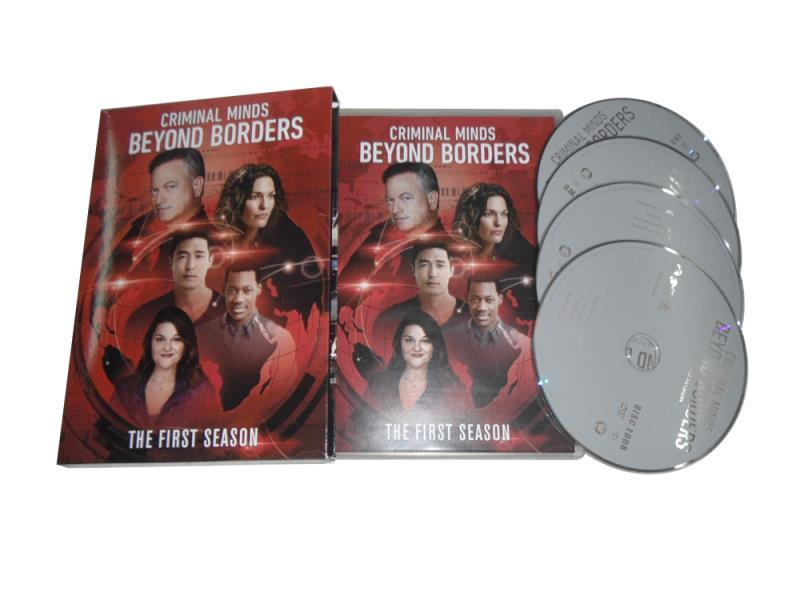 Criminal Minds Beyond Borders The Complete First Season 1 DVD Box Set 4 Disc
