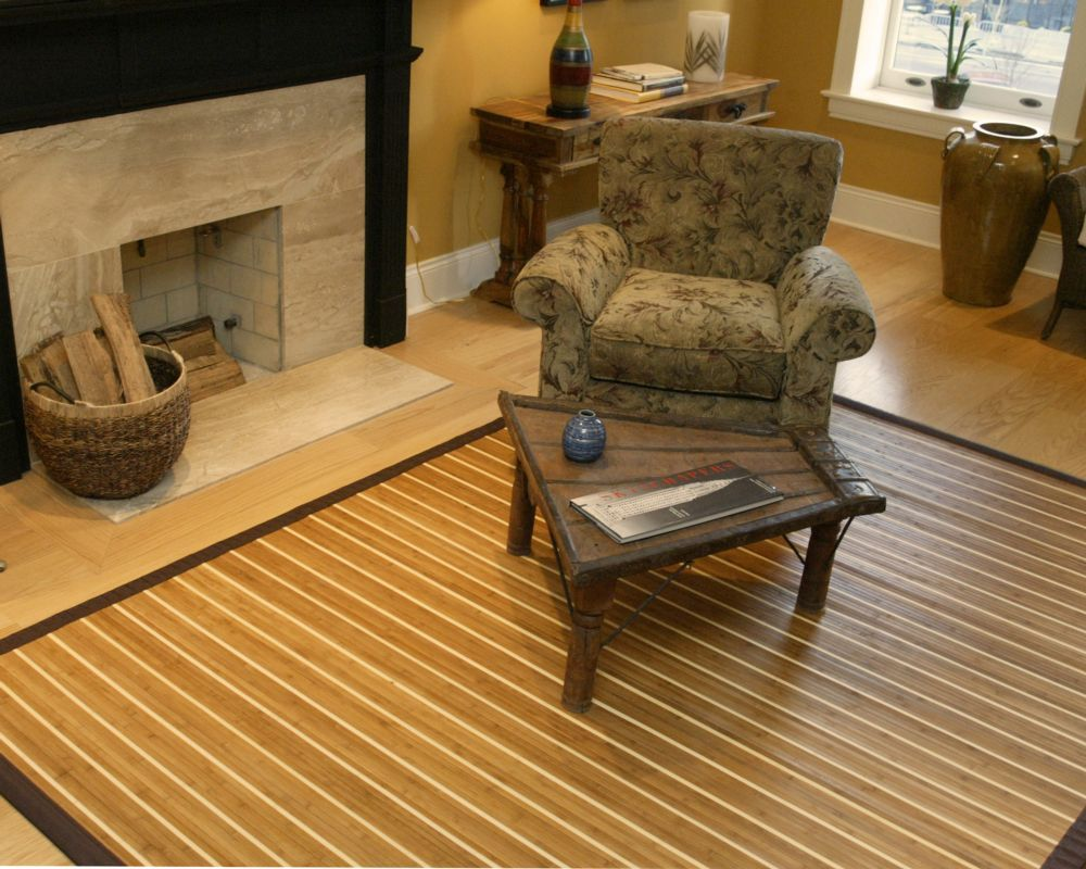 Premiere Natural Bamboo Rug 4ft. x 6ft.