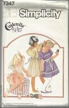 Vintage Simplicity Cinderella Pattern #7347-Child's Dress-Sz 6 - $5.14