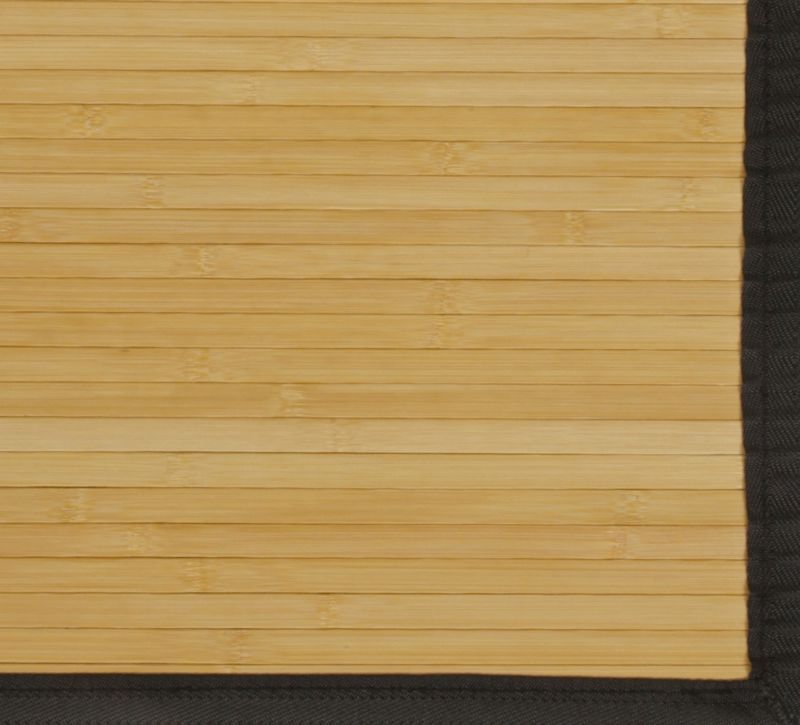 Contemporary Natural Bamboo Rugs 4ft. x 6ft.