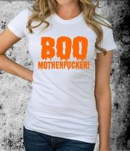 Halloween Women T-Shirt T-Shirt white XS-XXL - $17.00