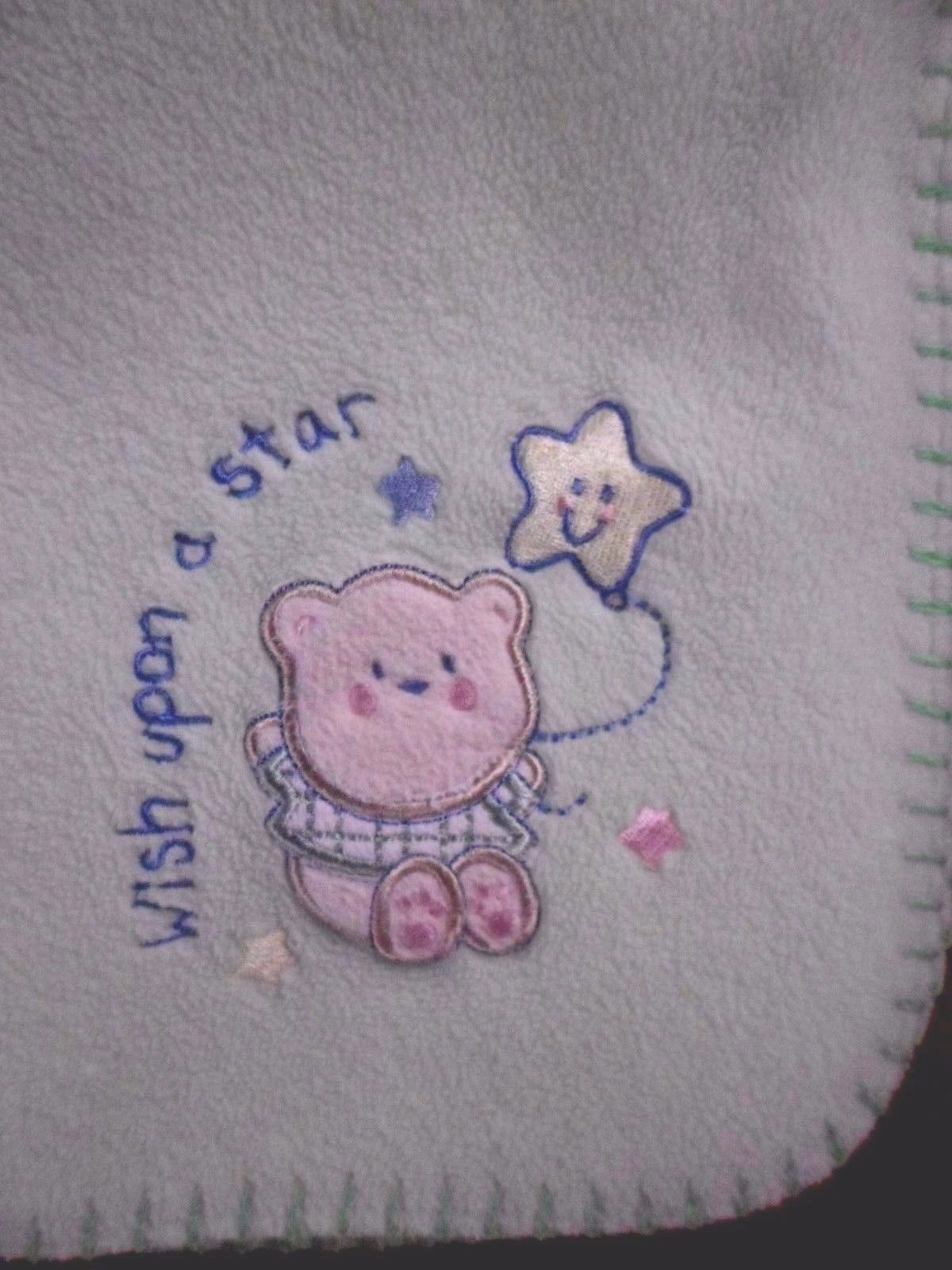 Primary image for Just Born Green Bear Wish Upon A Star Baby Blanket Bear
