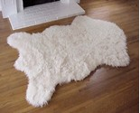 Fake faux fur alaskan polar bear rug thumb155 crop