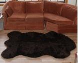 Fake faux fur russian brown bear rug thumb155 crop