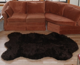 Faux Russian  Brown Bear Rug Medium - $59.99
