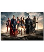 Justice League Superheroes Movie Poster Batman Super Man  - $5.06+