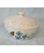 "Lenox Butterfly Meadow 1 Quart Round Covered Casserole 6"" x 2 7/8"" - $49.39"