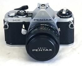 ASAHI PENTAX ME Vintage 35mm FILM Camera Vivitar 28mm f/2.8 Wide Angle M... - $80.10