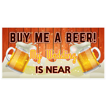 Buy Me a Beer Bachelor Party Banner - $22.28