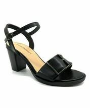 Pierre Dumas, Black Corina Ankle-Strap Sandal, Sz 8.5 - $28.71