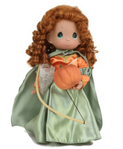 "Precious Moments Disney Parks Exclusive Merida Boo Green Halloween 12"" Doll - $37.36"