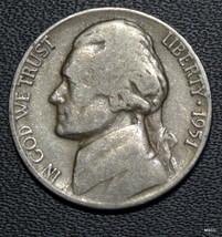 1951-D Circulated Jefferson Nickel No Shipping! Satisfaction Guaranteed! - $2.79