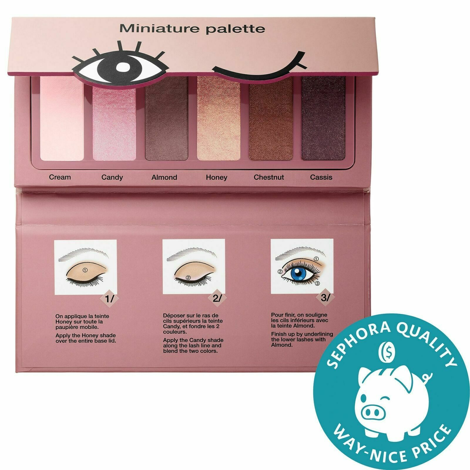 SEPHORA COLLECTION Miniature Palette Color Donut Shades Collection NIB - $12.00